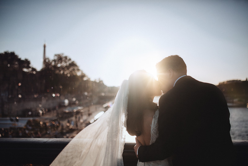 J + D | Intimate Destination Wedding Paris