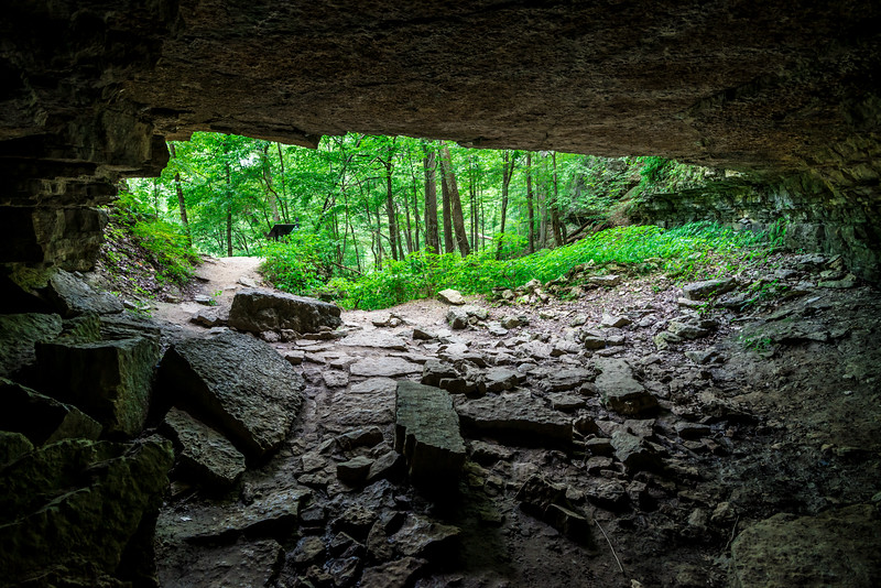 Broughs Tunnel - Clifty Falls State Park - Indiana