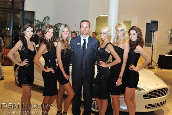 DSM Luxury Aston Martin Rapide Launch Event Las Vegas