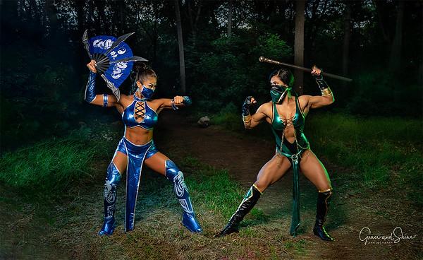 Mortal Kombat - photoshoot