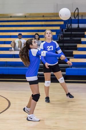 9-5-2017: MS B Girls Volleyball- CSN vs Seacrest