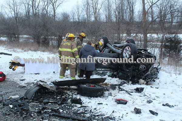1/20/20 - Mason extrication, southbound US-127 MM 63