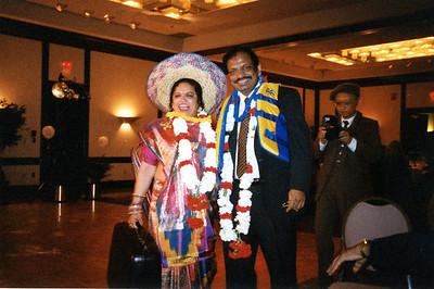Saroj & Manmohan 25th 1999