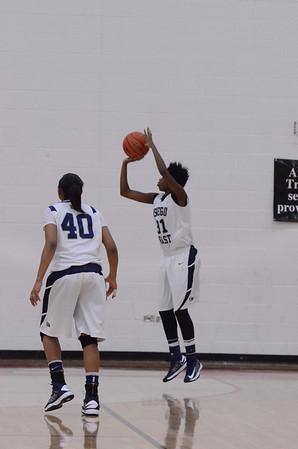 O E Girls Varsity Basketball Vs Yorkville (Regional) 2013