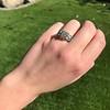 2.10ct Art Deco Peruzzi Cut Diamond Ring, GIA W-X SI2 5