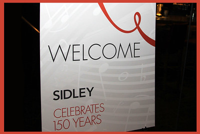 Sidley - 150th Anniversary Celebration in Dallas
