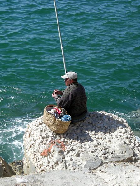 fishing, Alexandria, Egypt -2008