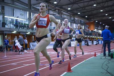 International Combined Events Tallinn 2019, Pentathlon
