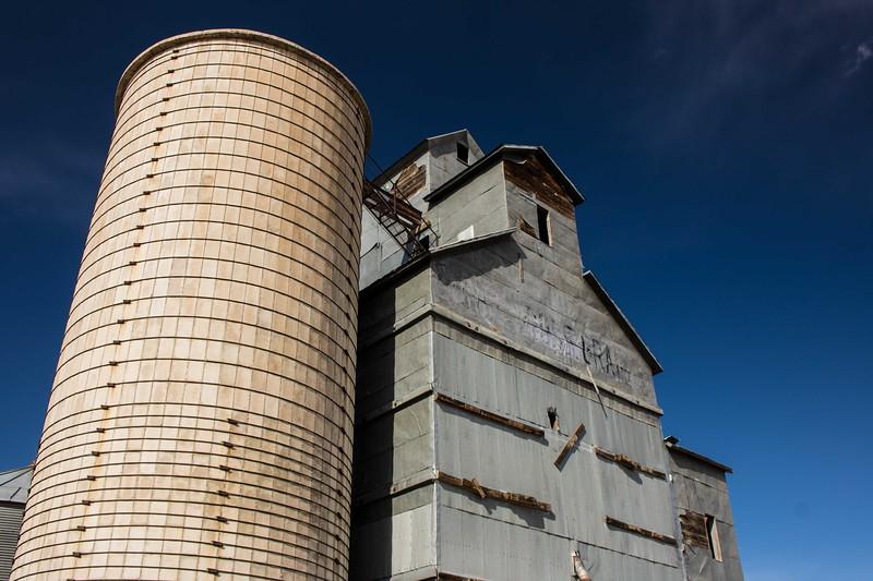 Matheson Grain Silo