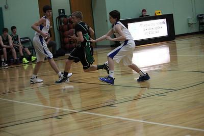 Warrior Boys Basketball vs Heritage 2/5