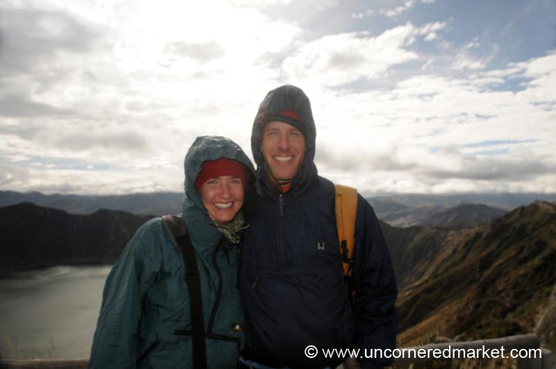 All Bundled Up - Quilotoa Lake, Ecuador