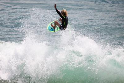 Surfing Burleigh Heads