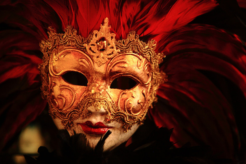 Mask in Venice.