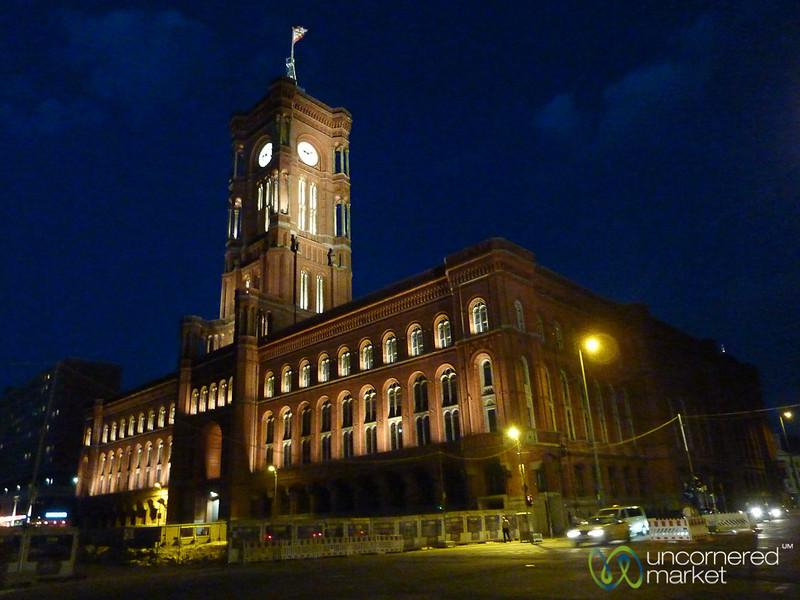 Rote Rathaus at Night - Mitte, Berlin