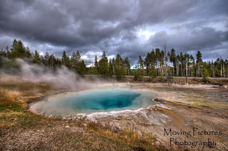Yellowstone NP - Fountain Paintpots trail