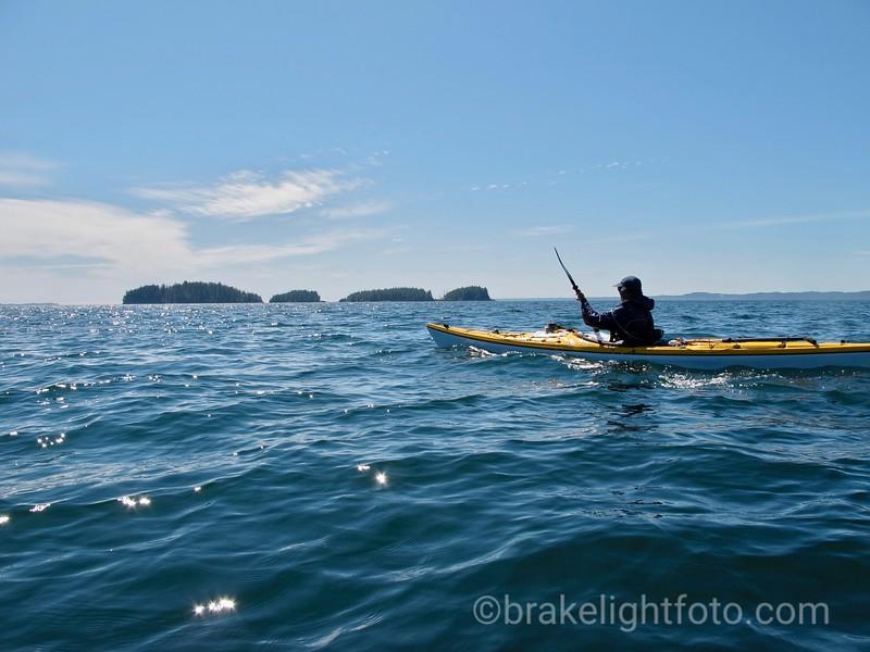 Crossing Laredo Sound - Aitken Islands