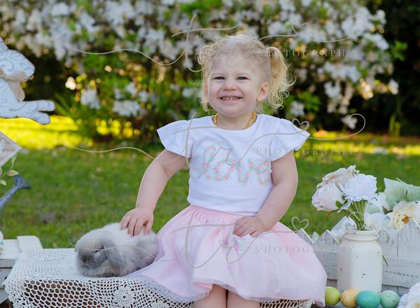 Jackson & Olivia~Easter  Bunny