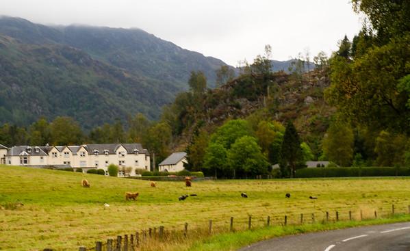 Trossachs Mountains, Scotland