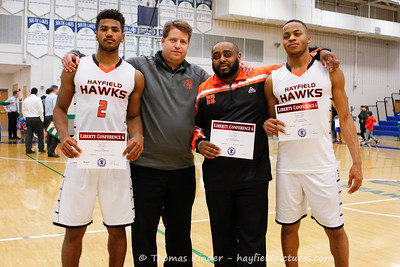 Boys Varsity Basketball vs Langley 2/15/17