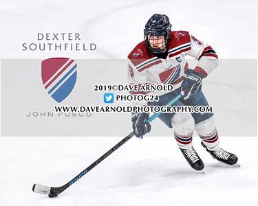 1/8/2020 - Boys Varsity Hockey - Dexter vs Rivers