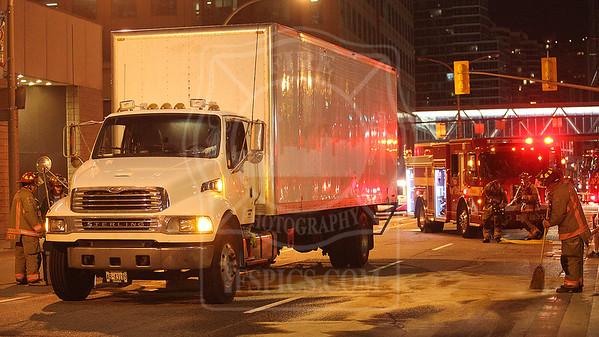 August 16, 2015 - Hazmat Level 2 - Lake Shore Blvd W & Bay Street