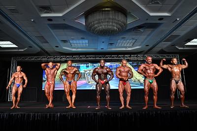 Men's Bodybuilding Masters 40+ Overall