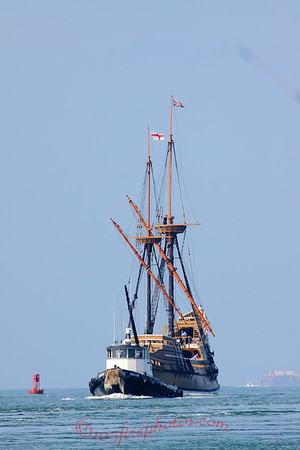 Mayflower 2 Returns to Plymouth