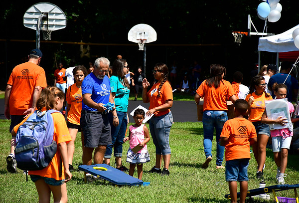 8/10/2018 Mike Orazzi | Staff The Bristol Housing Authority Fun Day at the Bristol Housing Authority in Cambridge Park Friday.
