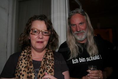 Die Kabarettistin und der Liedermacher bei Uschi und Thomas Nehls