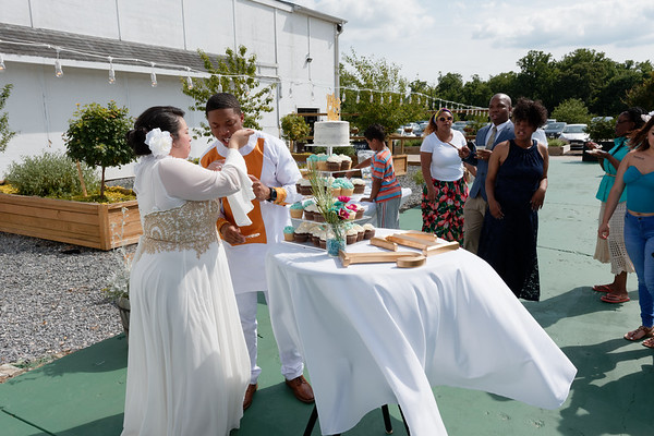 Jo Jo and Tayvon Wedding