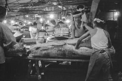 1963 July Japan zoo,  ship, fish market