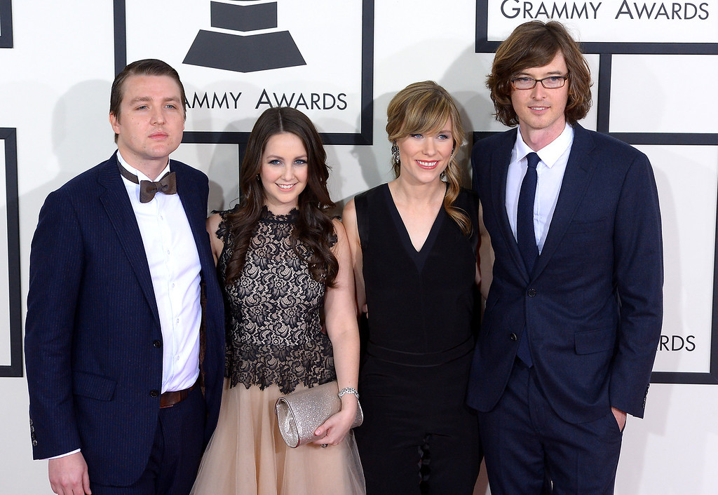 . Milk Carton Kids arrive at the 56th Annual GRAMMY Awards at Staples Center in Los Angeles, California on Sunday January 26, 2014 (Photo by David Crane / Los Angeles Daily News)