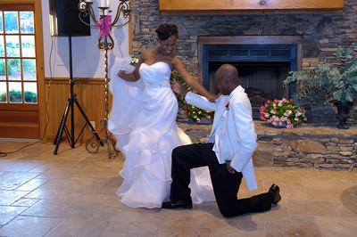 DeAnna & A.B. Wedding - Receptions