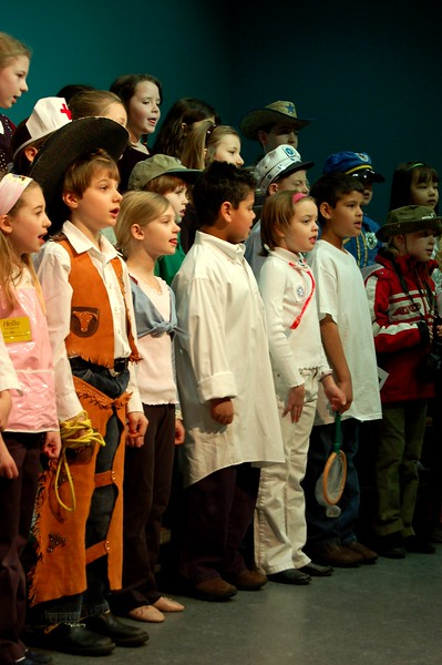 Second Grade Play