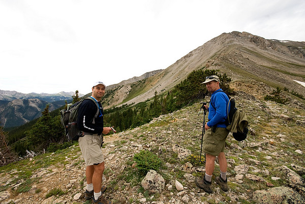 Mt. Yale with George & Greg - 7/29/08
