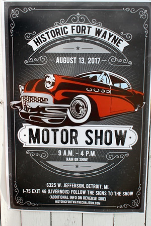 August 13, 2017 Motor Show at Detroit's Historic Fort Wayne