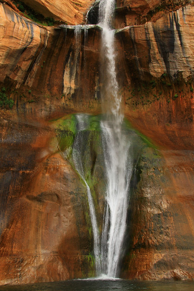 Tiers of Calf Creek Falls