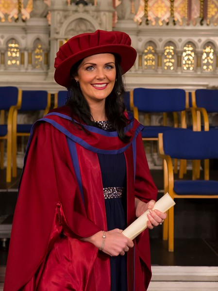 Waterford Institute Of Technology Conferring. Pictured at WIT Waterford Institute Of Technology Conferring is Gemma McCarthy, Waterford who was conferred a Doctor of Philosophy. Picture: Patrick Browne