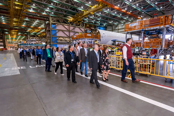 Boeing Factory Tour May 2