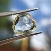 3.46ct Portrait Rose Cut Trapezoid Diamond GIA UV VVS2 26