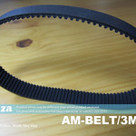 SKU: AM-BELT/3M/333, 333-3M Trapezoidal-Tooth Timing Belt, Closed-loop 3M Pitch Elastomeric Timing Belt 333mm Length