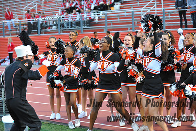 Cheerleaders at Football Game vs. North Rockland