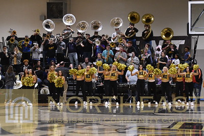 2019-01-24 BAND Pep Band at Basketball Game