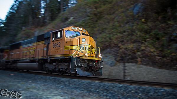 Trainspotting Wenatchee