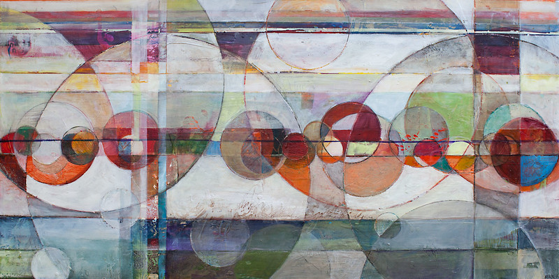 Tra, 24 x 48 inches, sold