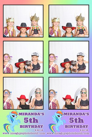 Miranda's 5th Birthday - 05.31.15