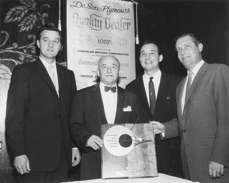 1957, Quality Dealer Award