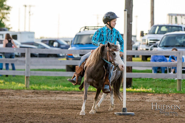 10. Pole Bending Ponies Jr. Rider