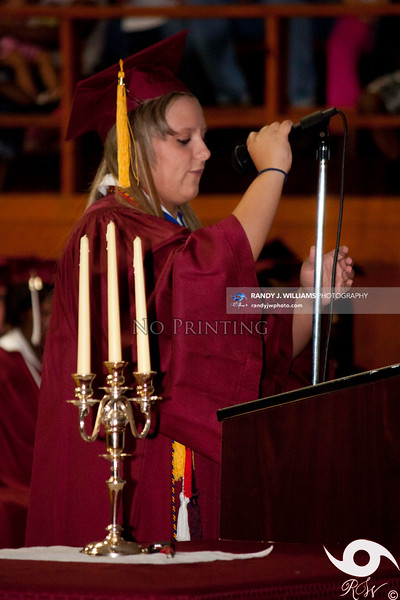 Biggersville High School's Graduation (2012)