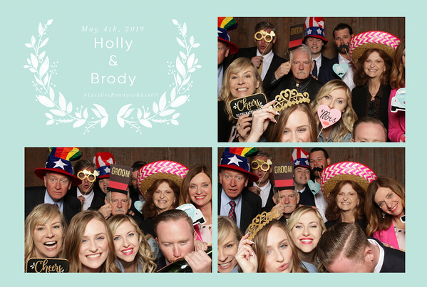 Holly+Brody ~ Wedding Photo Booth